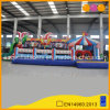 Multi Play Inflatable Clown Castle Bouncer (AQ0694)