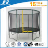 10FT Green Color Trampoline with Safety Net, Round Trampoline