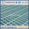 Galvanized Serrated Steel Grating with Open Ends