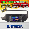 Witson Android 5.1 Car DVD for KIA Rio 2015 (W2-F9587K)