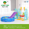 Popular Plastic Slide and Swing with Super Quality From Hobby Tree