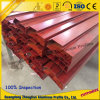 Powder Coating Wood Grain Aluminium Profile Aluminum Extruded Profile
