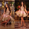 2017 Gold Pink Party Gown Beading Short Prom Evening Dresses A3116