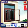 Aluminum Frame Casement Windows with Tempered Glass