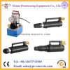Bonded or Unbonded Post-Tensioning System Monostrand Stressing Jack and Pump