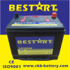 Japan Technology 60ah 12V Maintenance Free Vehicle Battery N50z-Mf