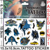 Water Transfer Temporary Batman Tattoo Sticker (cg053)