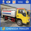5000L Dongfeng Foton 6-Wheeler Light Oil Fuel Tanker Trucks Sale