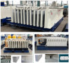 The Machine for Making Hollow Core Wall Panel and Sandwich Wall Panel