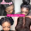 Virgin Peruvian Hair Silk Base Closure Hair Closure
