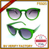 F-6920 Charming Latest Style Vogue Fashionable Round Frame Sun Shade Eyeglasses From Wenzhou