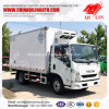 Yuejin 4X2 Gross Weight 5tons Refrigerated Van Truck