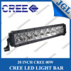 12V CREE LED Light Bar 80W LED Work Light Bar, Boat LED Work Lamp, Fog Light Roof LED Driving Light, 20 Inch USA CREE Chip