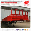 60 Tons Container Dropside Flatbed Semi Trailer for Africa