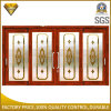 Thermal Break Aluminum Sliding Door with Frost Flowers Glass