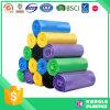 Colorful High Density Polyethylene Garbage Bag on Roll