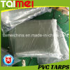 Orange/Green PVC Waterproof Tarpaulin/Tarps for Truck/Car/Boat Cover