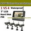 2.4G 4CH Wireless Security Camera DVR