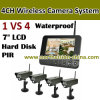 2.4G 4CH Wireless Security Camera DVR