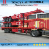 Standard Carbon Steel 3 Axle Container Chassis Skeleton Semi Trailer