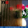 3-8mm Bronze Bamboo Patterned Glass