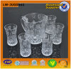 2014 Clear Glass Tea Set (LW-JUG0502 SET)