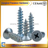 DIN7982 Zinc-Plated Steel Cross Recessed Csk/Flat Head Self-Tapping Screws