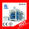 QT10-15 Full-Automatic Concrete Pavers Brick Making Machine