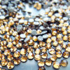 Smoked Topaz Swaro Crystal Wedding Rhinestone Beads