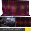 Customizer Flexible LED Video Curtain Display Screen