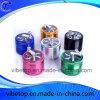 Hot Sale 4 Tier Aluminum/Zinc Alloy Box of Herb Grinder