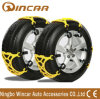 Color Yellow TPU Plastic Snow Tire Chain Vehicles Wheel Antiskid TPU Chain