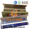 King Size Brown Blue Gold De Luxe Smoking Paper