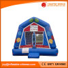 Blue Air Balloon Theme Bounce House Inflatable Bouncer (T1-207)