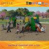Promotional Used Plastic Playground Slides, Outdoor Preschool Playground Equipment