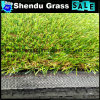 Green+Brown Curl 30mm Artificial Turf From China