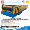 Corrugated Roof Panel Double Layer Roofing Sheet Roll Forming Machine