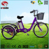 Safety Scooter Electric Tricycle 3 Wheel Bicycle with LCD Display