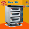 High Quality Heating 3-Deck 6-Tray Commercial Electric Oven for Sale
