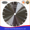 300mm Diamond Saw Blade for Cutting Stone and Concrete with Double U Type