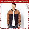 Men Winter Coat Khaki Brown Bomber Baseball Jacket (ELTBJI-74)
