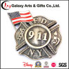 Railroad Police Dia Coasting with Star Design Custom Lapel Pins for Souvenir