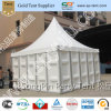 Pagoda Tent With Solid Wall and Glass Door (PAGODA 5M)