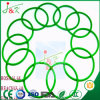 Silicone Rubber, FKM Rubber, Red, Green O-Rings for Sealing