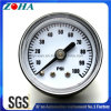 "40mm/1.5"" Miniature Back Connection Black Steel Case General Pressure Gauge"