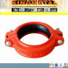 FM/UL Approved Grooved Pipe Fitting Ductile Iron Flexible Coupling
