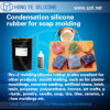 Condensation/Tin Cured Silicone Rubber for Candle Molds Making