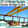 Lh Type Double Girder Workshop 5 Ton Overhead Crane