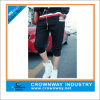 Mens Cotton Polyester Capri Sweatpants with Rib Leg Opening