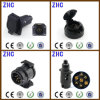 European Ce PVC Plastic 12V 24V 10A 7pin 13pin Brass Power Connecting Male and Female Vehicle Trailer Connector